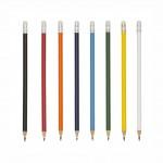 L01 – Lápis de madeira com borracha – Para brindes
