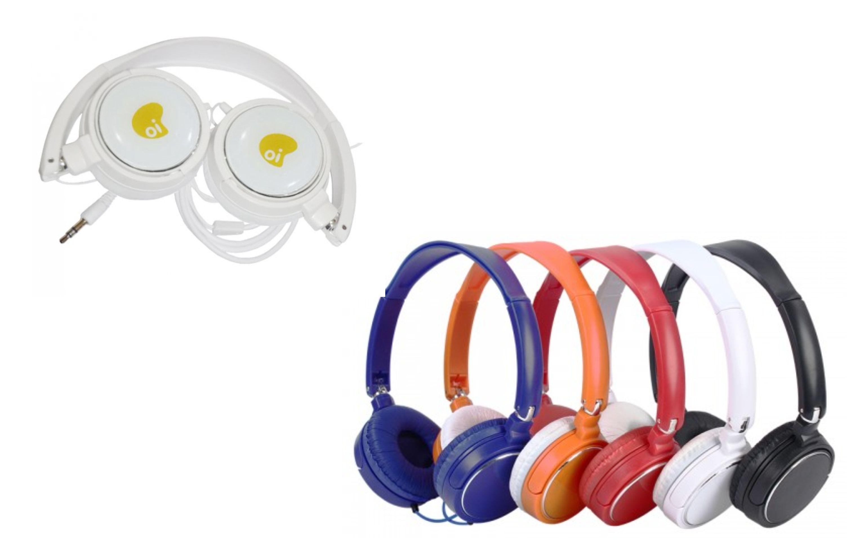 FON4 – Fone de ouvido dobrável – Personalizado