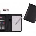 CAL18 – Calculadora, com bloco de anotações – Para brindes