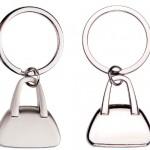 CHM36 – Chaveiro formato bolsa feminina metal – Para brindes