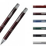 CL4 – Conjunto de caneta e lapiseira metalicos acompanha estojo – Promocional