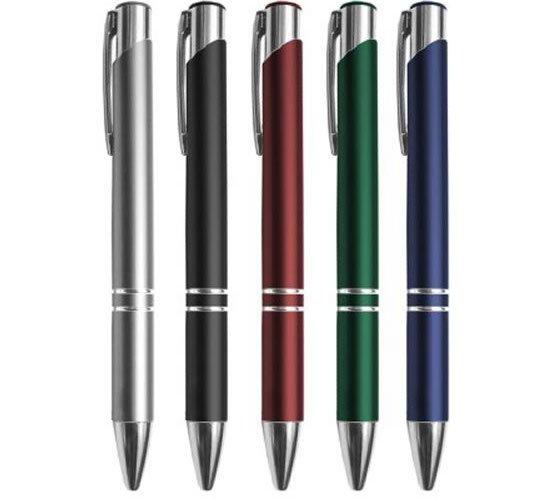 CM99 – Caneta metálica em diversas cores convencional – Personalizado