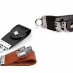 PDM5 – Pen Drive Couro Botão – Para brindes