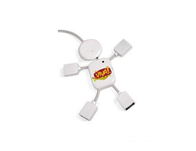 HUB6 – Hub em formato de boneco – Personalizado