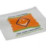 Pasta zip fabricada em P.V.C – PCT1