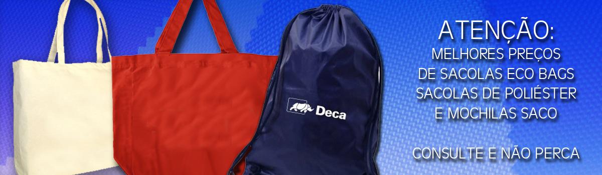 Sacolas e Ecobags Absoluty Brindes Corporativos