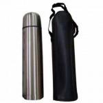 ST21000- Garrafa térmica em aço inox de 1L 1000ml com estojo – Personalizado