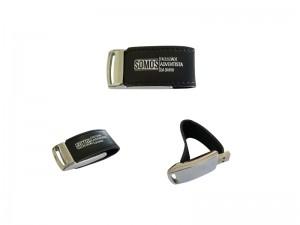 Pen drive de couro sintético – PDM10