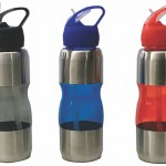 SM12 – Squeeze de acrílico com metal – Para brindes