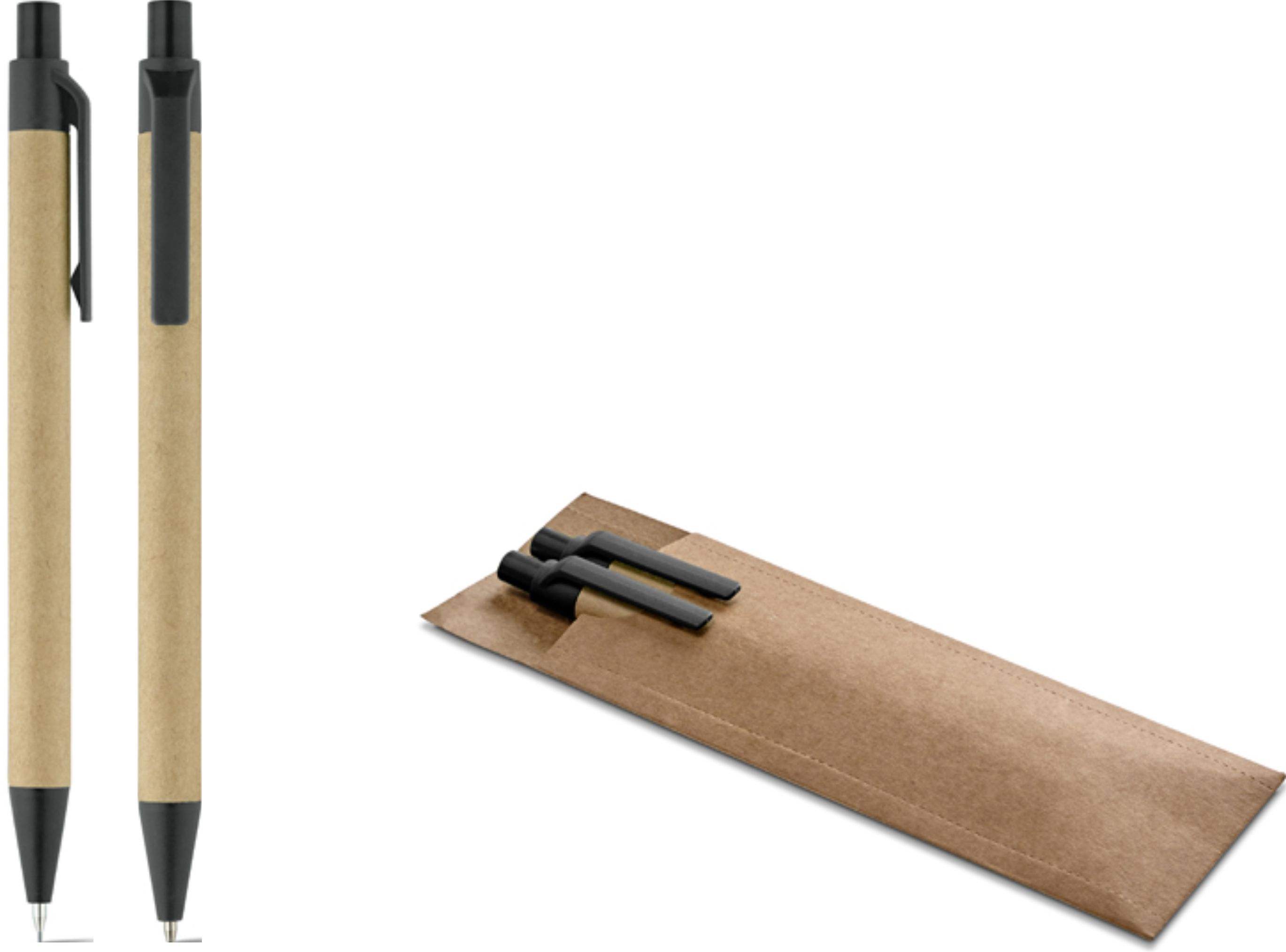CREC846SP – Kit caneta e lapiseira ecológico – Para brindes