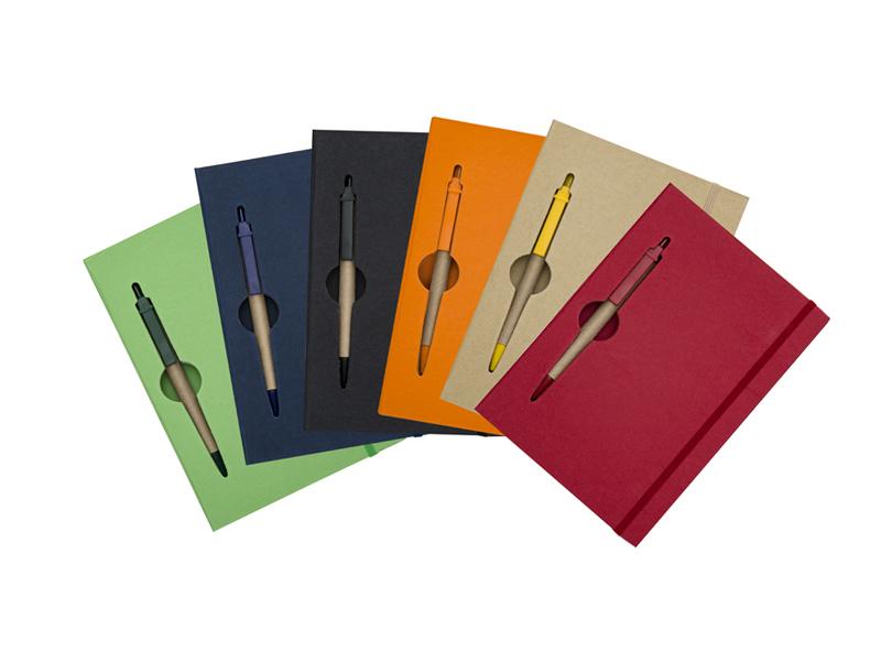 AB13005Z – Bloco de anotações com caneta – Para brindes