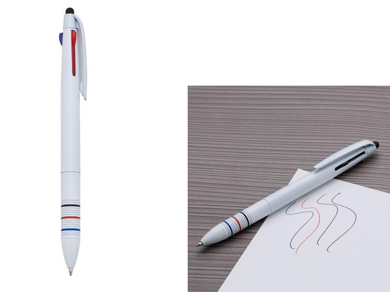 AB13362Z – Caneta 3 em 1 Touch – Promocional