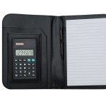 AB1610Z – bloco de anotações com calculadora e caneta – Para brindes
