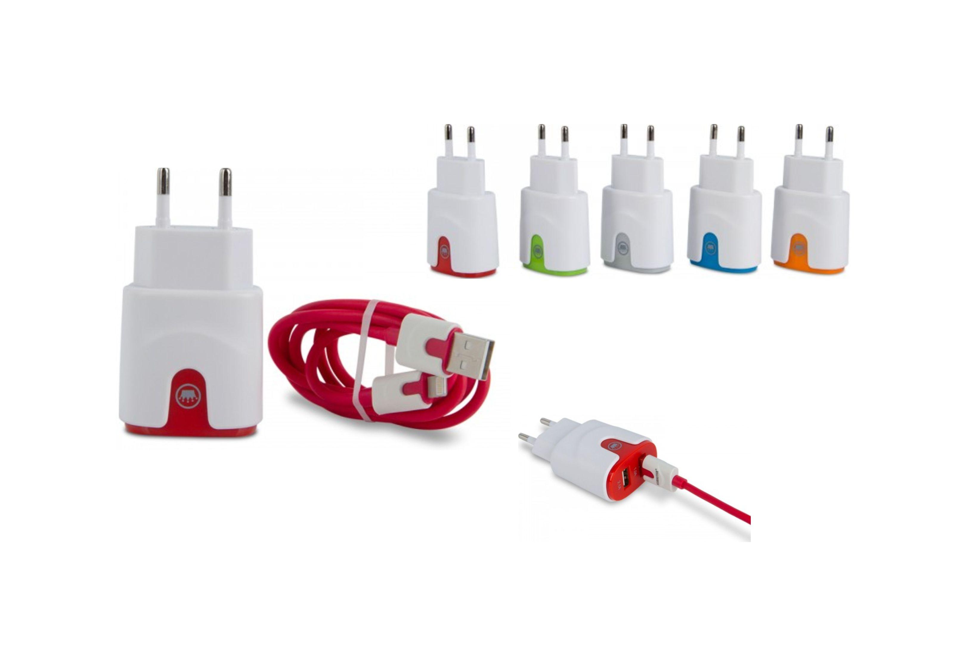 AB611LT – Kit carregador 2 USB – Para brindes